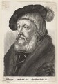 Probably Sir William Butts, by Wenceslaus Hollar, published by  Adam Alexius Bierling, after  Hans Holbein the Younger - NPG D7976