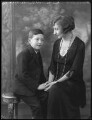 Claud Kenneth Melville Dundas; Anne Claudia Whalley Kennard (née Foot), by Bassano Ltd - NPG x37078