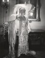 Florence Jane (née Théleur), Lady Alexander as Silver in 'Pageant of Jewels', by Cecil Beaton - NPG x14003