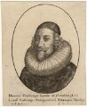 Henry Hastings, 5th Earl of Huntingdon, by Wenceslaus Hollar, after  Unknown artist - NPG D17887