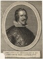 Philip IV, King of Spain, by Wenceslaus Hollar, after  Diego Rodríguez da Silva y Velázquez - NPG D17891