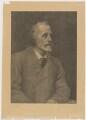 George Meredith, by William Biscombe Gardner, after  George Frederic Watts - NPG D17893