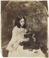 Ina Liddell, by Lewis Carroll - NPG P991(2)
