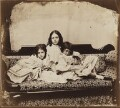 Edith Mary Liddell; Ina Liddell; Alice Liddell, by Lewis Carroll (Charles Lutwidge Dodgson) - NPG P991(4)