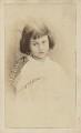Alice Liddell, by Lewis Carroll (Charles Lutwidge Dodgson) - NPG P991(8)