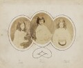Ina Liddell; Alice Liddell; Edith Mary Liddell, by Lewis Carroll (Charles Lutwidge Dodgson) - NPG P991(10)