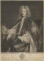 William Talbot, by George Vertue, after  Sir Godfrey Kneller, Bt - NPG D13916