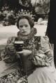 Glenda Jackson as Queen Elizabeth I in 'Mary, Queen of Scots', by Terry O'Neill - NPG x34557