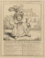 Bergami's Little Darling (Caroline Amelia Elizabeth of Brunswick), attributed to Theodore Lane, published by  George Humphrey - NPG D17915b