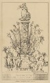 The C-R-L--E Column (Sir Matthew Wood, 1st Bt; Caroline Amelia Elizabeth of Brunswick; Bartolomeo Pergami), attributed to Theodore Lane, published by  George Humphrey - NPG D17929