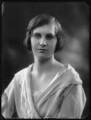 (Margaret) Hermione (née Bulwer-Lytton), Lady Cobbold, by Bassano Ltd - NPG x122492
