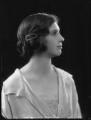 (Margaret) Hermione (née Bulwer-Lytton), Lady Cobbold, by Bassano Ltd - NPG x122493