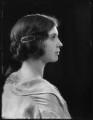 (Margaret) Hermione (née Bulwer-Lytton), Lady Cobbold, by Bassano Ltd - NPG x122495