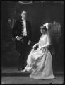 Reginald Charles Jewesbury; Anne C.Oliphant Williamson Jewesbury, by Bassano Ltd - NPG x122529