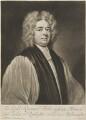 Francis Atterbury, by John Simon, after  Sir Godfrey Kneller, Bt - NPG D14072