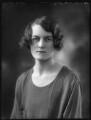 Hon. Jocelyn Emmet (née Portman), by Bassano Ltd - NPG x122558