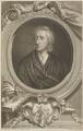 John Locke, by George Vertue, after  Sir Godfrey Kneller, Bt - NPG D14080