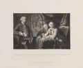 George Augustus Selwyn; Richard Edgcumbe, 2nd Baron Edgcumbe; George James Williams, by James Scott, published by  Henry Graves, after  Sir Joshua Reynolds - NPG D14109
