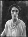Florence (née Padelford), Lady Ebury, by Bassano Ltd - NPG x122609