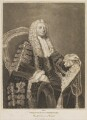 Philip Yorke, 1st Earl of Hardwicke, by and published by Edward Harding, after  William Hoare - NPG D14207