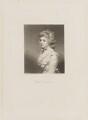 Fanny Kemble, by Samuel William Reynolds, after  Sir Joshua Reynolds - NPG D14213