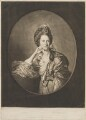 Mary Ann Yates, by Richard Houston, published by  Robert Sayer, after  Johan Joseph Zoffany - NPG D14249