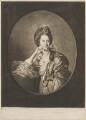 Mary Ann Yates, by Richard Houston, published by  Robert Sayer, after  Johan Joseph Zoffany - NPG D14249