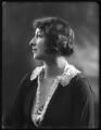 Norah Elizabeth Ursula (née Wood-Pottle), Viscountess Torrington, by Bassano Ltd - NPG x122756