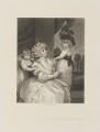 Jane Countess of Harrington and Children, by Arthur N. Sanders, after  Sir Joshua Reynolds - NPG D14312