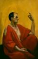 Edward Alexander ('Aleister') Crowley, by Leon Engers Kennedy - NPG 6630