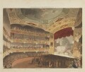 'Royal Circus', by Thomas Rowlandson, and by  Auguste Charles Pugin, aquatinted by  John Bluck, published by  Rudolph Ackermann - NPG D14433