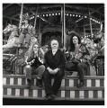 Peter Blake; Juliette Liberty Blake; Daisy Blake; Rosie Blake, by Emily Andersen - NPG x45671