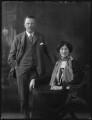 Sir Algernon Kerr Butler Osborn, 7th Bt; Beatrice Elliot Kennard (née Greenfield), Lady Osborn, by Bassano Ltd - NPG x37098