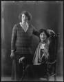 Dorothy Chapman (née Osborn); Beatrice Elliot Kennard (née Greenfield), Lady Osborn, by Bassano Ltd - NPG x37099