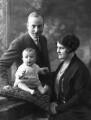 Sir Alan John Cobham; Michael Cobham; Gladys Lloyd Cobham, by Bassano Ltd - NPG x19418