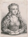 Unknown woman, by Wenceslaus Hollar, after  Martin Schongauer - NPG D18029