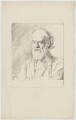 Alphonse Legros, by Sir William Rothenstein - NPG D18051