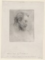 Alphonse Legros, by George Frederic Watts - NPG D18059