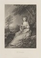 Elizabeth Ann Sheridan (née Linley), by James Scott, published by  Henry Graves & Co, after  Thomas Gainsborough - NPG D14577