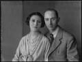 Minoru Foley (née Greenstone), Lady Foley; Gerald Henry Foley, 7th Baron Foley, by Bassano Ltd - NPG x36536