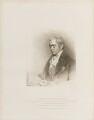 George John Spencer, 2nd Earl Spencer, by Henry Meyer, published by  T. Cadell & W. Davies, after  John Wright, after  John Hoppner - NPG D14670