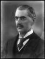 Neville Chamberlain, by Bassano Ltd - NPG x81135