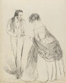 Two unknown sitters, by Hon. Henry Richard Graves - NPG D18085(21)