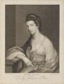 Juliana Baker (née Penn), by Robert Pranker, after  Katharine Read - NPG D14785