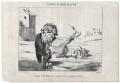 'Disciples de Mr. [Richard] Cobden, dans l'exercice de leurs pacifiques fonctions.', by Honoré Daumier - NPG D18088