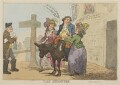 'The Departure', by Thomas Rowlandson, published by  William Humphrey - NPG D14836