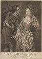 Catherine ('Kitty') Clive (née Raftor) as Phillida in Cibber's 'Damon and Phillida', by and published by John Faber Jr, after  Peter van Bleeck - NPG D14853