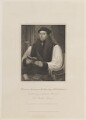 Thomas Cranmer, by Charles Picart, published by  Lackington, Allen & Co, and published by  Longman, Hurst, Rees, Orme & Brown, after  William Haines, after  Gerlach Flicke - NPG D14855