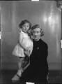 Lady Caroline Blackwood; Maureen Constance Hamilton-Temple-Blackwood (née Guinness), Marchioness of Dufferin and Ava, by Bassano Ltd - NPG x34688