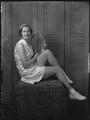 Eileen Vivian Bennett (later Mrs Fearnley-Whittingstall)